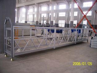 Steel Aerial Lifting Powered Suspended Platform Cradle 800 Rated Load